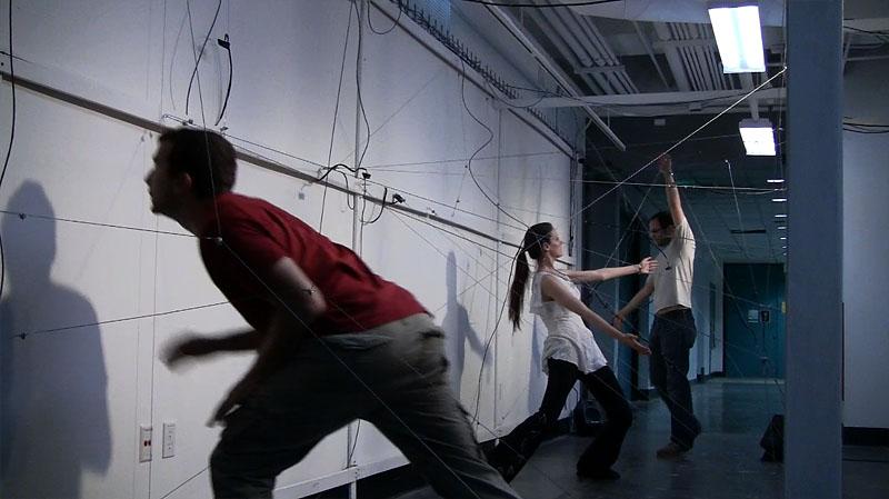Cal Arts Spring Course: Choreography for a Liminal Space